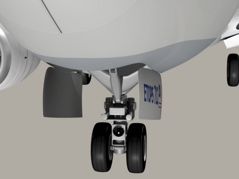 boeing 737-700 continental airlines 3d model 3ds max lwo obj 114005