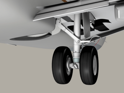boeing 737-700 continental airlines 3d model 3ds max lwo obj 114006