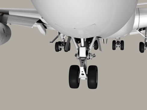 boeing 747-200 air france 3d model 3ds max lwo obj 113973