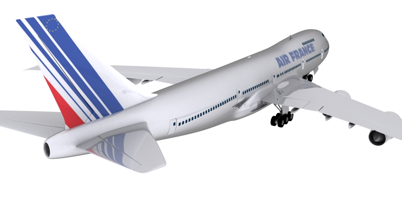 boeing air france 3d model max 115008