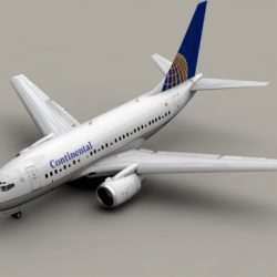 Boeing 737-600 Continental Airlines ( 116.77KB jpg by Behr_Bros. )