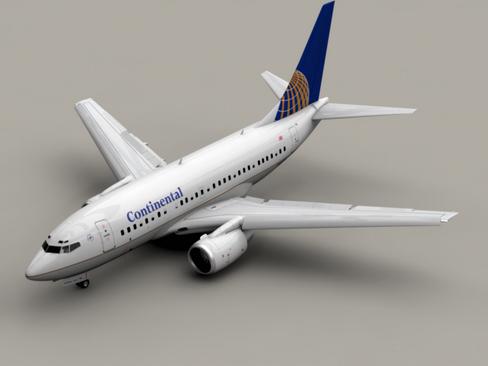 Boeing 737-600 Continental Airlines ( 116.77KB jpg by Behr_Bros. )