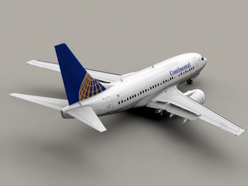Boeing 737-600 Continental Airlines ( 116.16KB jpg by Behr_Bros. )