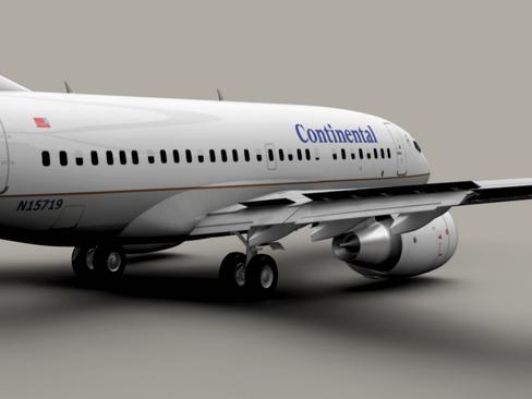 Boeing 737-600 Continental Airlines ( 103.26KB jpg by Behr_Bros. )