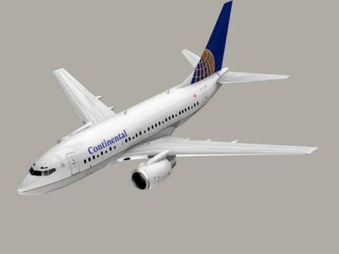 Boeing 737-600 Continental Airlines ( 53.08KB jpg by Behr_Bros. )