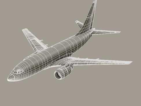 Boeing 737-600 Continental Airlines ( 69.66KB jpg by Behr_Bros. )