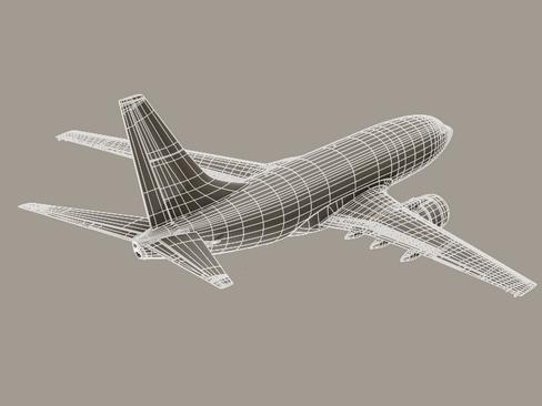 Boeing 737-600 Continental Airlines ( 68.43KB jpg by Behr_Bros. )