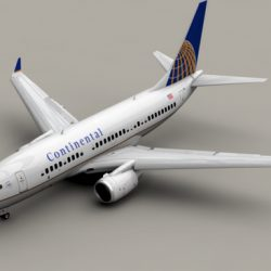 Boeing 737-700 Continental Airlines ( 121.84KB jpg by Behr_Bros. )