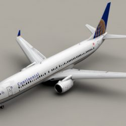 Boeing 737-900 Continental Airlines ( 121.15KB jpg by Behr_Bros. )