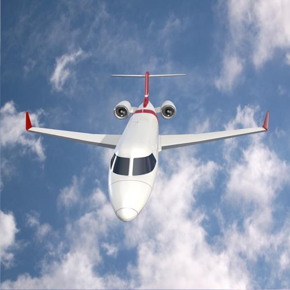 bombardier learjet 85 private jet 3d model 3ds fbx blend dae lwo obj 162183