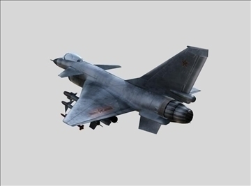 chinese military aircraft j10 3d model 3ds max ma mb obj 84682