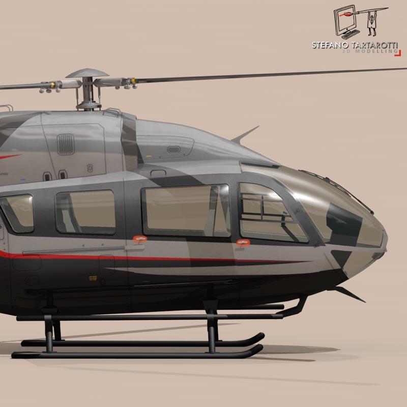 ec145 air executive 3d model 3ds fbx c4d dae obj 166056