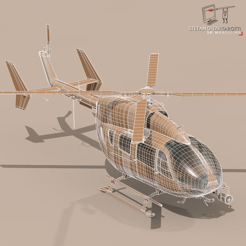 ec145 law enforcement 3d model 3ds fbx c4d dae obj 166085
