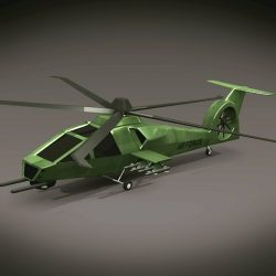 Military helicopter concept ( 133.75KB jpg by futurex3d )