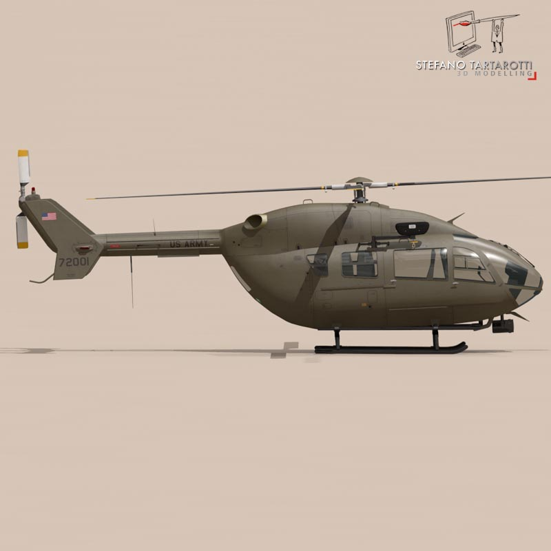 uh72 lakota 3d model 3ds fbx c4d dae obj 166072