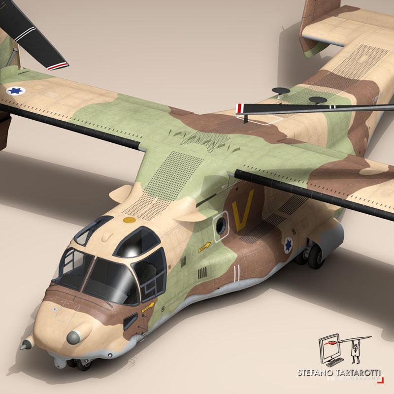 v-22 Osprey iaf 3d model 3ds dxf fbx c4d dae obj 153334