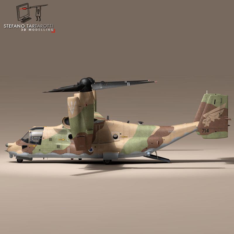 v-22 osprey iaf 3d model 3ds dxf fbx c4d dae obj 153335