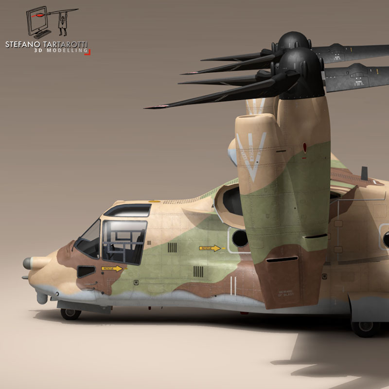 v-22 osprey iaf 3d model 3ds dxf fbx c4d dae obj 153336