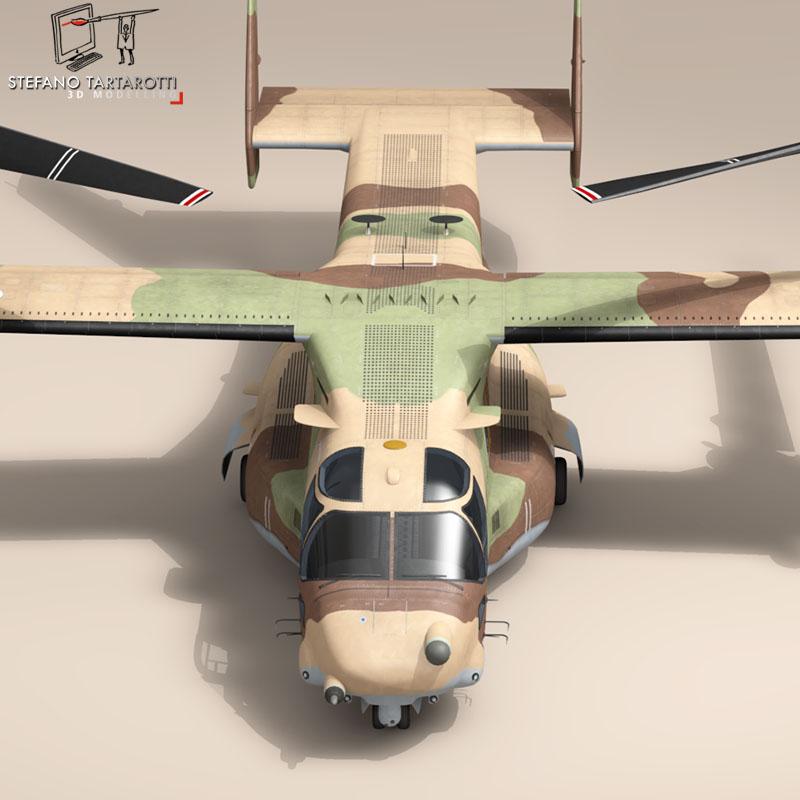 v-22 osprey iaf 3d model 3ds dxf fbx c4d dae obj 153339