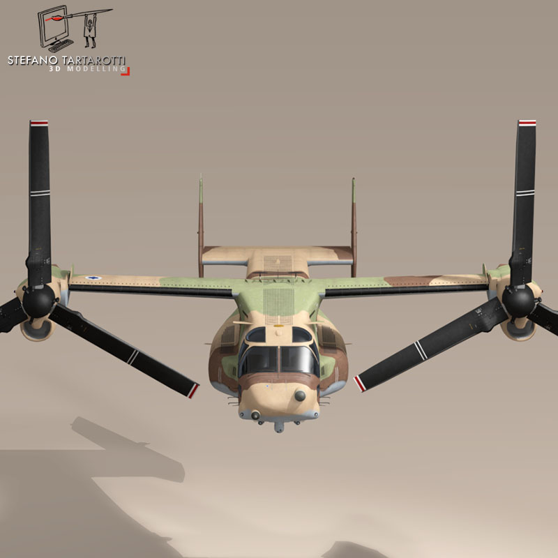 v-22 osprey iaf 3d model 3ds dxf fbx c4d dae obj 153340