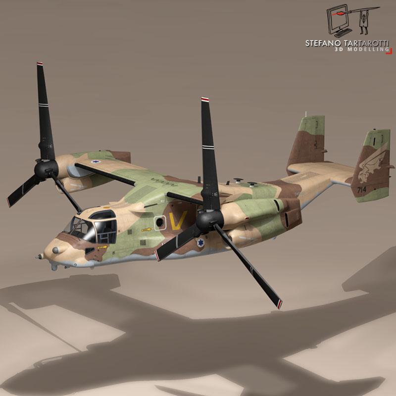 v-22 osprey iaf 3d model 3ds dxf fbx c4d dae obj 153341