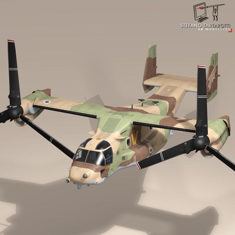 v-22 osprey iaf 3d model 3ds dxf fbx c4d dae obj 153342