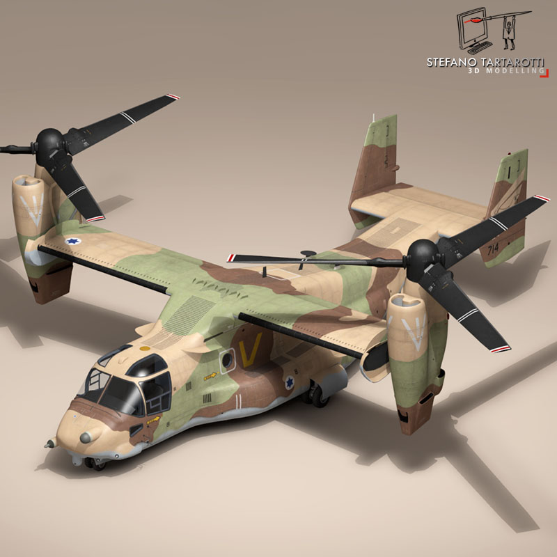 v-22 osprey iaf 3d model 3ds dxf fbx c4d dae obj 153343