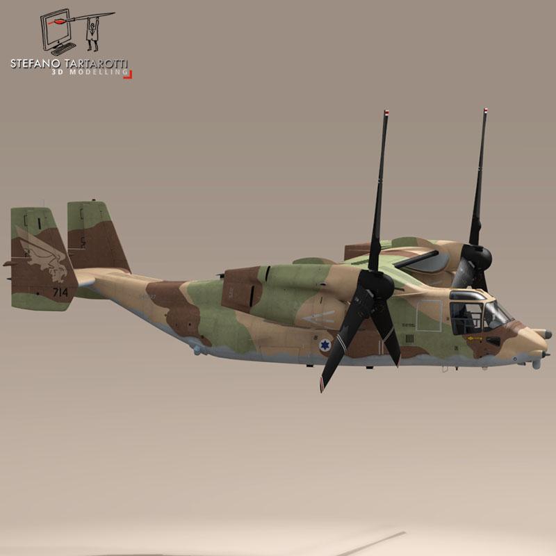 v-22 osprey iaf 3d model 3ds dxf fbx c4d dae obj 153344