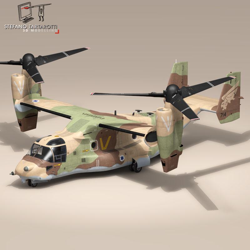 v-22 osprey iaf 3d model 3ds dxf fbx c4d dae obj 153346
