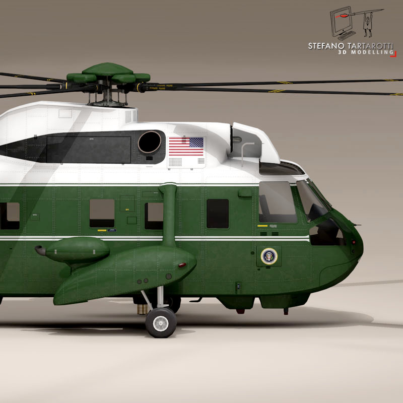 vh-3d marine one 3d model 3ds dxf fbx c4d dae obj 151229