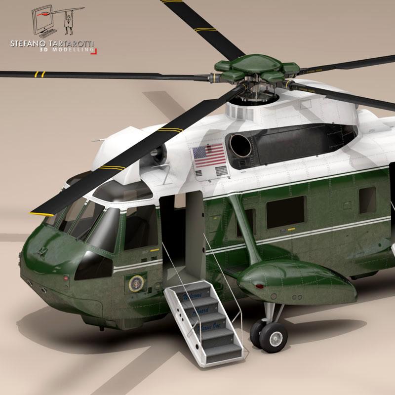 vh-3d marine one 3d model 3ds dxf fbx c4d dae obj 151230