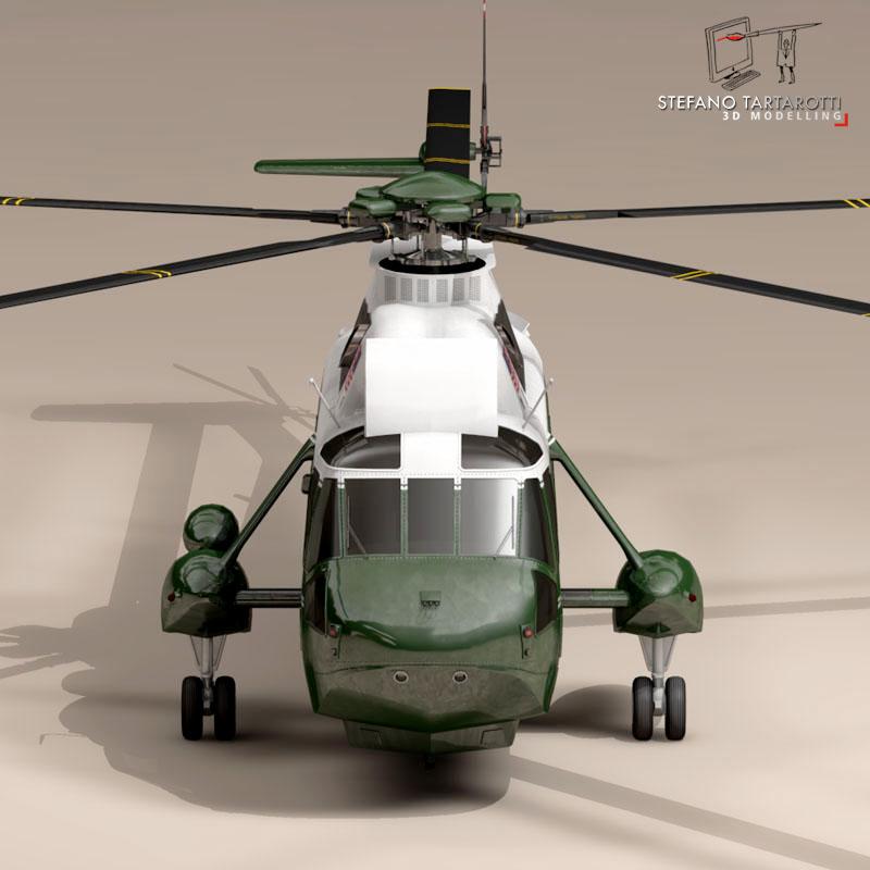vh-3d marine one 3d model 3ds dxf fbx c4d dae obj 151233