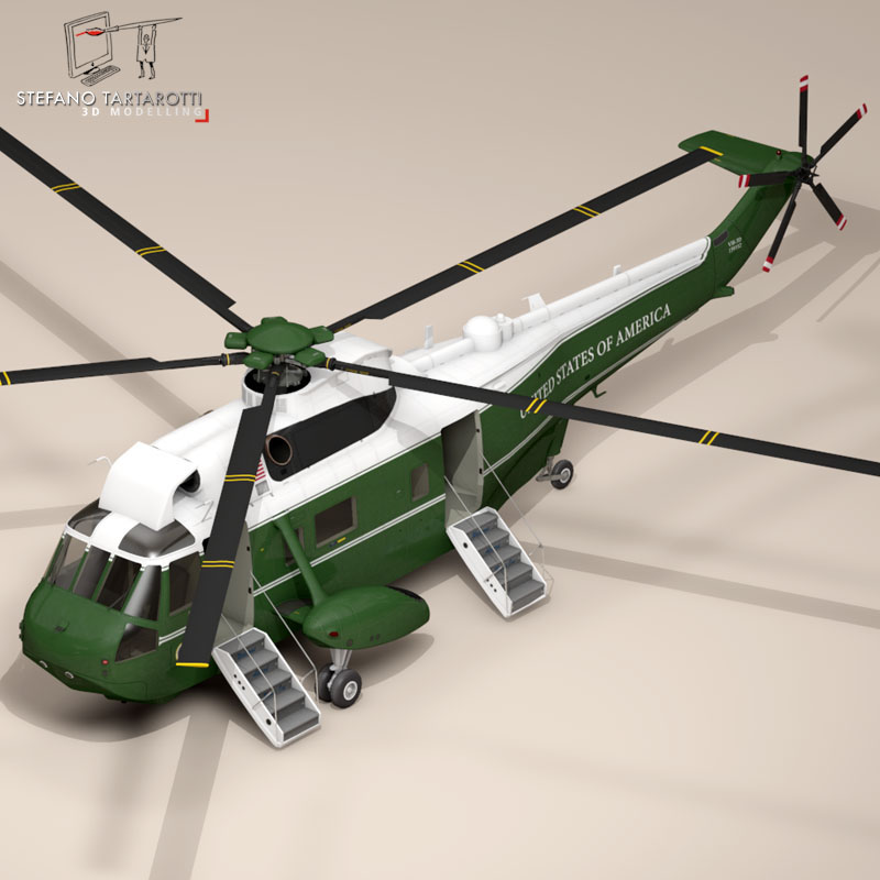 vh-3d marine one 3d model 3ds dxf fbx c4d dae obj 151234