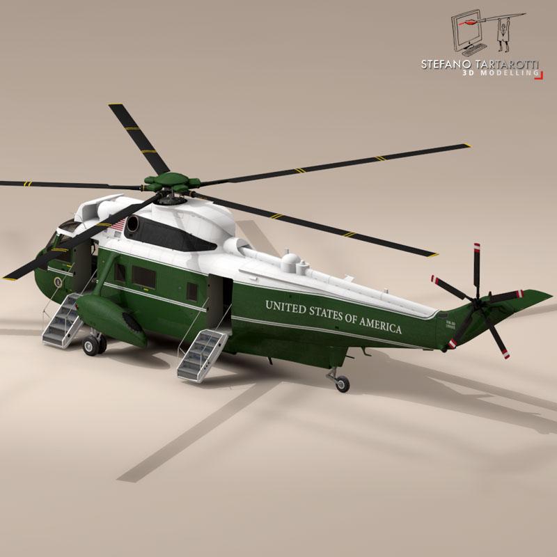 vh-3d marine one 3d model 3ds dxf fbx c4d dae obj 151237