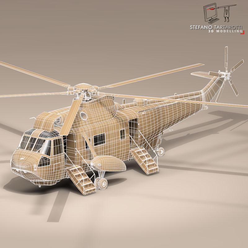 vh-3d marine one 3d model 3ds dxf fbx c4d dae obj 151243