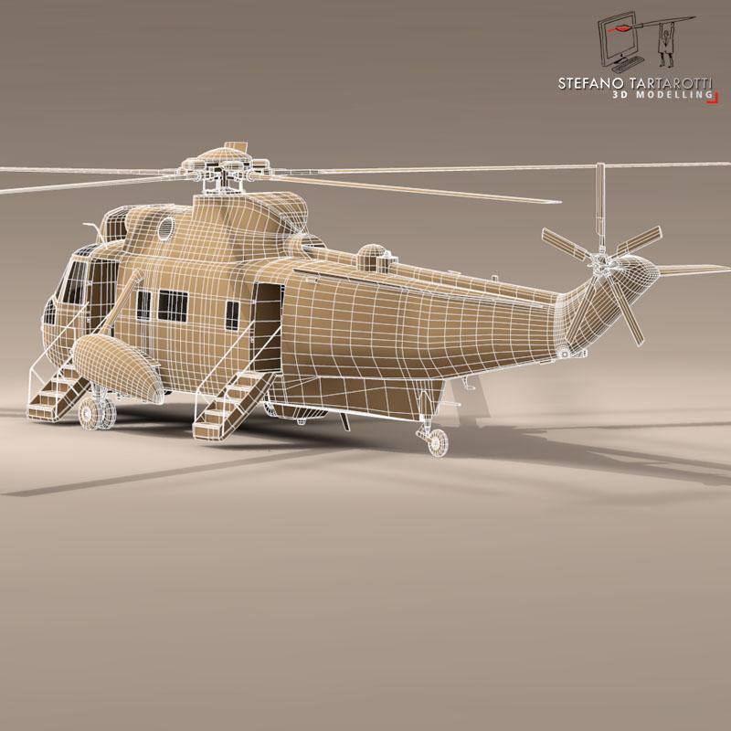 vh-3d marine one 3d model 3ds dxf fbx c4d dae obj 151244