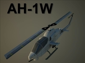 ah 1w supercobra 3d model 105708 màx