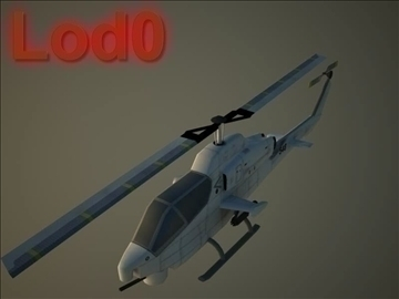 ah 1w supercobra 3d model max 105714