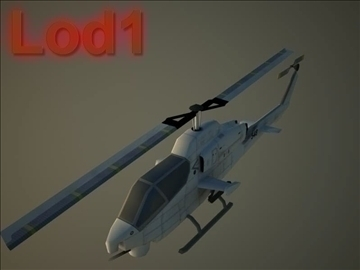 ah 1w supercobra 3d model max 105715