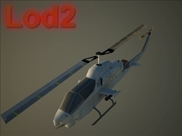 ah 1w supercobra 3d model max 105716