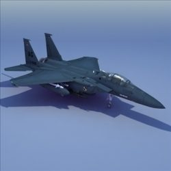 F15E Strike Eagle Jet ( 58.64KB jpg by 3DArtisan )