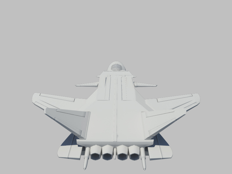 jetfighter_3 3d model fbx dae ma mb obj 116316