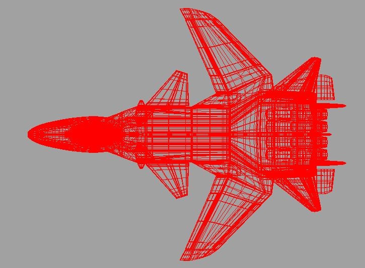 jetfighter_3 3d model fbx dae ma mb obj 116317