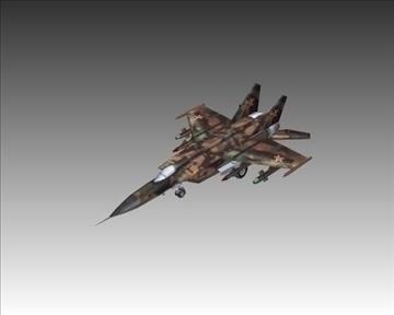 mig 25e foxbat зөвлөлтийн хөндлөнгийн нисэх онгоц - 2 3d загвар 3ds хамгийн их x lwo ma mb obN 104232