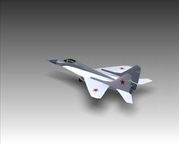 mig 29a fulcrum soviet interceptor aircraft 3d model 3ds max x lwo ma mb obj 111246