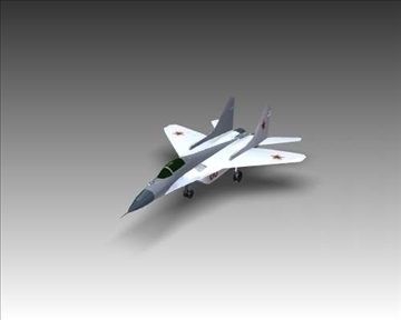 mig 29a fulcrum soviet interceptor aircraft 3d model 3ds max x lwo ma mb obj 111247