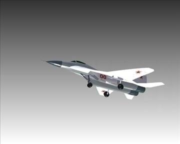 mig 29a fulcrum soviet interceptor aircraft 3d model 3ds max x lwo ma mb obj 111249