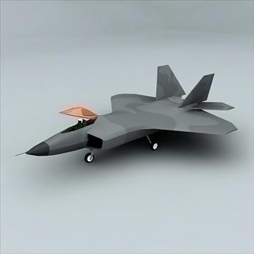 vojni zrakoplov 3d model max 100634