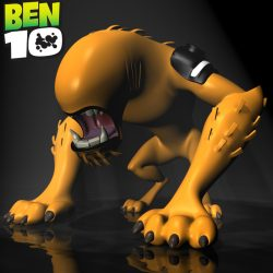 BEN 10-WildMutt RIGGED ( 339.38KB jpg by supercigale )