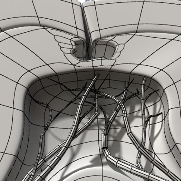 3D Model Cracked Tooth High Detail ( 91.71KB jpg by VKModels )